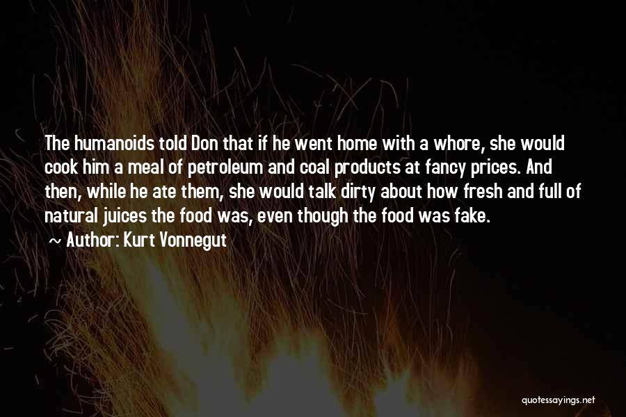 Let's Talk Dirty Quotes By Kurt Vonnegut
