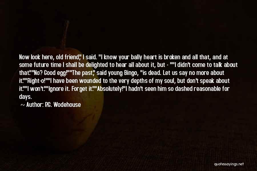 Let's Talk More Quotes By P.G. Wodehouse