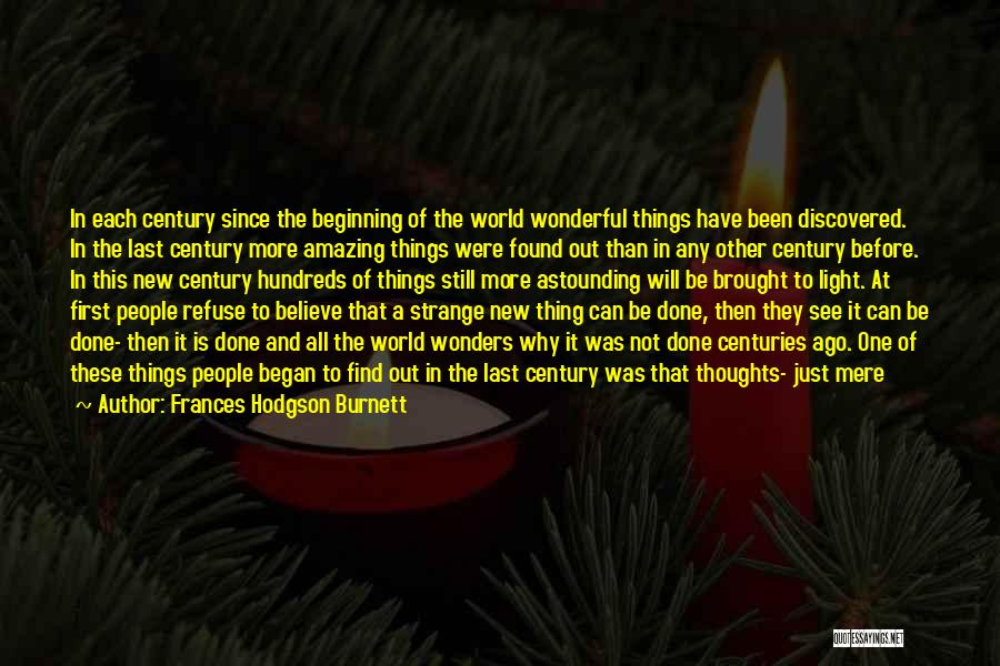 Letting Go After So Long Quotes By Frances Hodgson Burnett