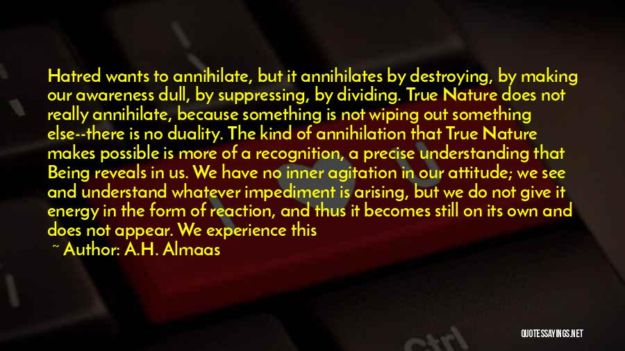 Letting Go And Moving On Quotes By A.H. Almaas