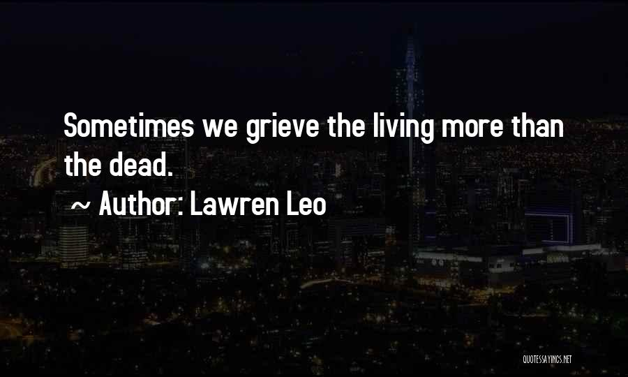 Letting Go And Moving On Quotes By Lawren Leo
