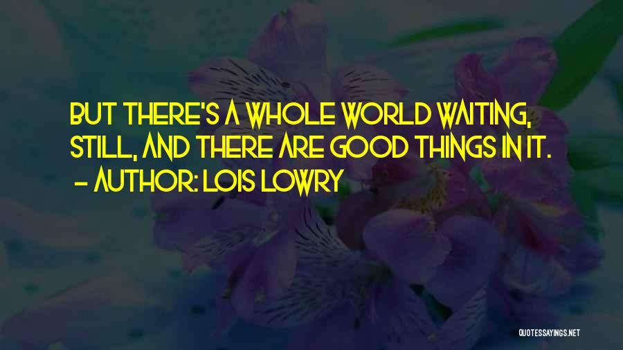 Letting Go And Moving On Quotes By Lois Lowry