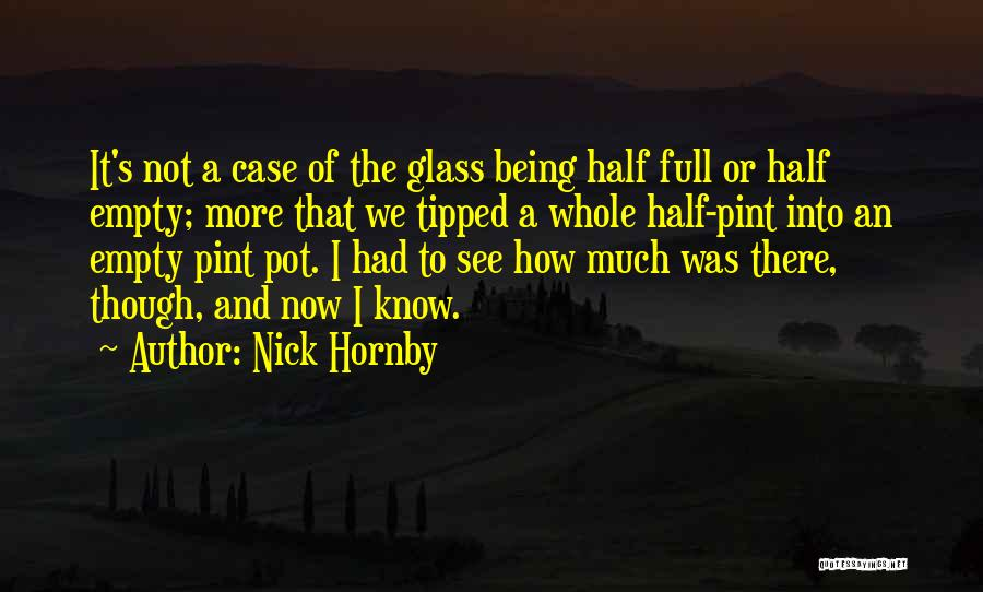Letting Go And Moving On Quotes By Nick Hornby