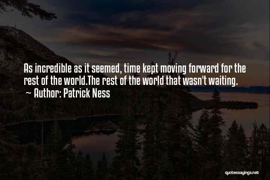 Letting Go And Moving On Quotes By Patrick Ness