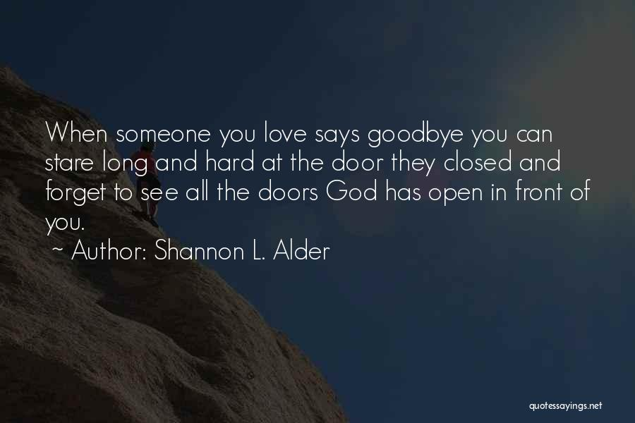 Letting Go And Moving On Quotes By Shannon L. Alder
