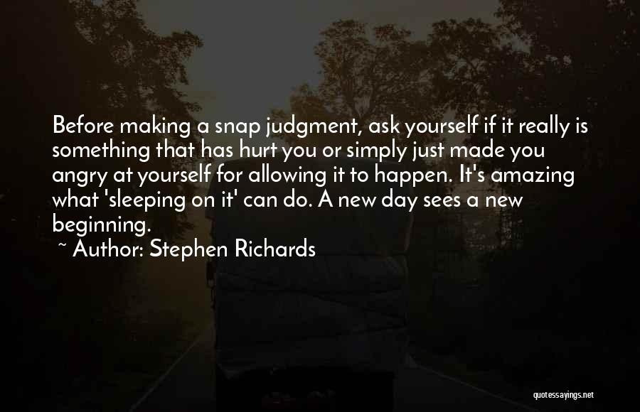 Letting Go And Moving On Quotes By Stephen Richards