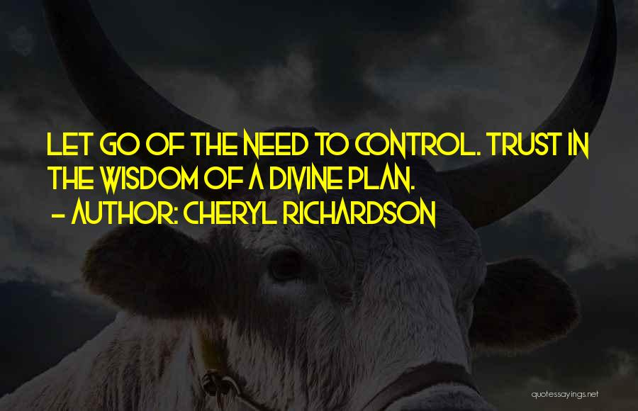 Letting Go Quotes By Cheryl Richardson