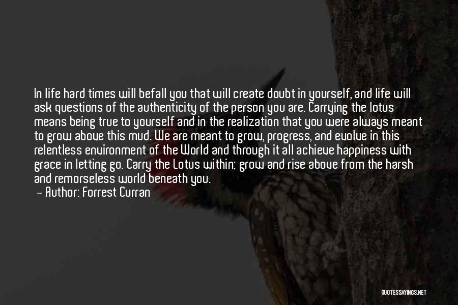 Letting Go Quotes By Forrest Curran