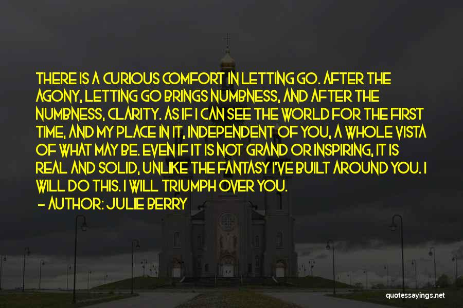 Letting Go Quotes By Julie Berry