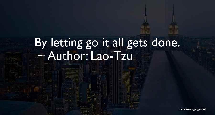 Letting Go Quotes By Lao-Tzu
