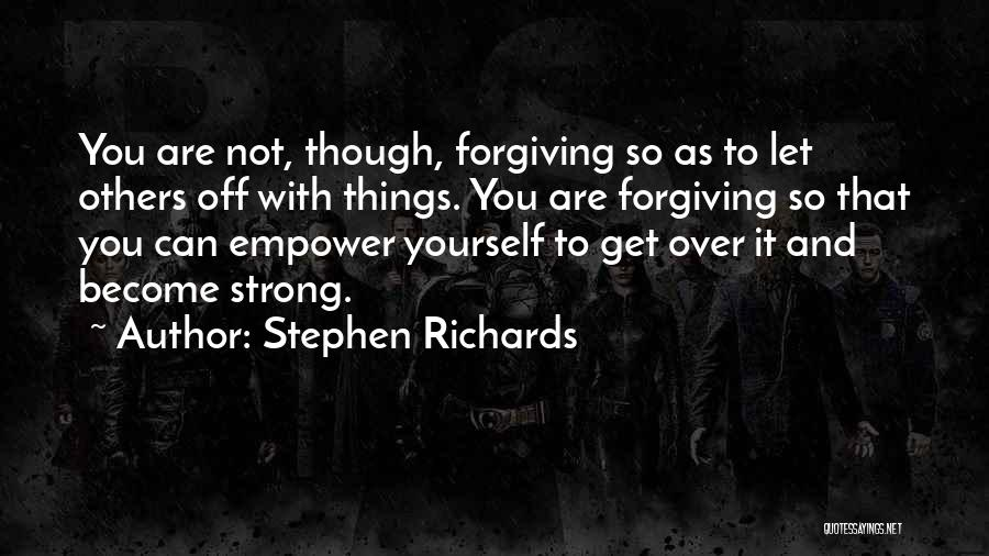 Letting Go Quotes By Stephen Richards
