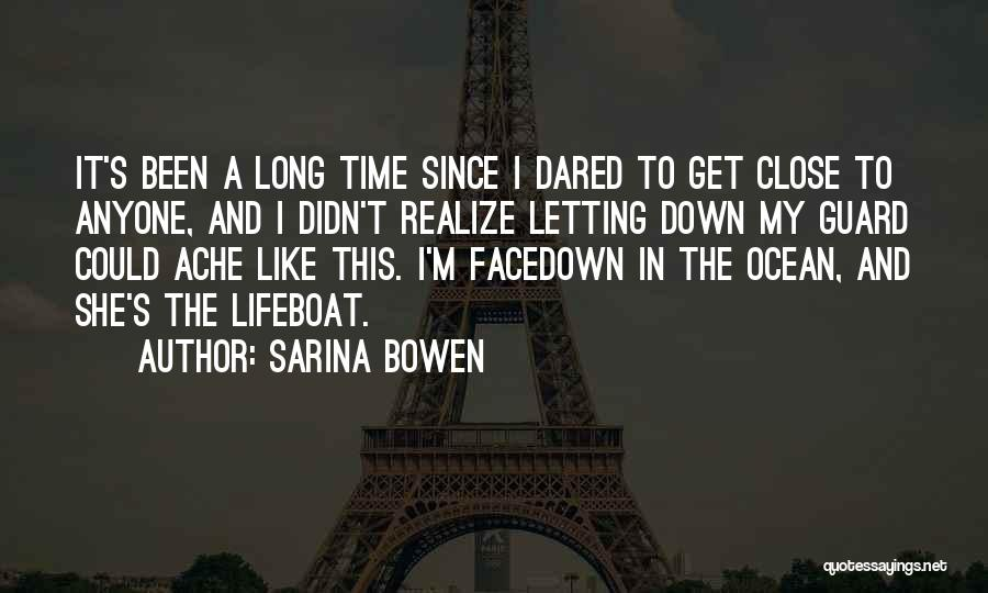 Letting Guard Down Quotes By Sarina Bowen