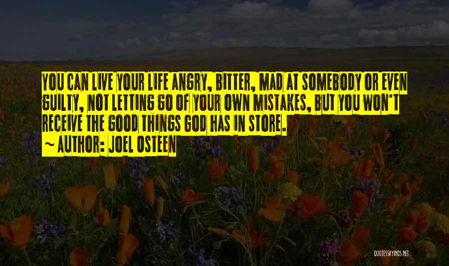 Letting Me Live My Own Life Quotes By Joel Osteen