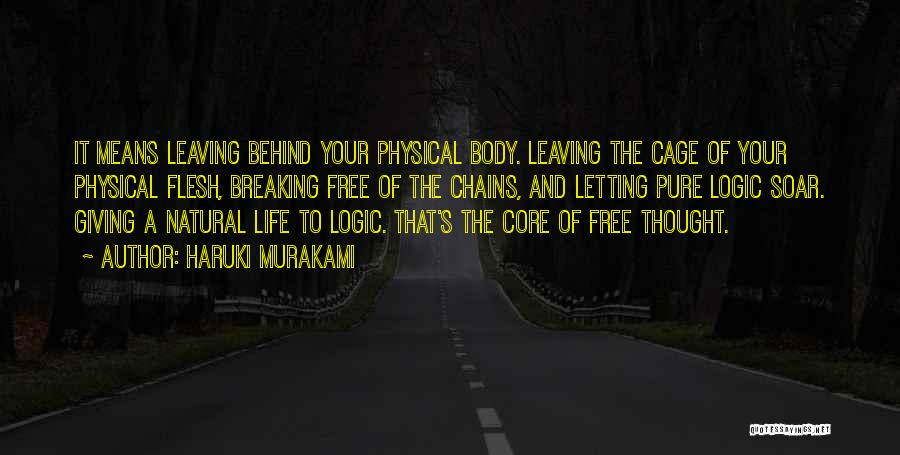 Letting Someone Out Of Your Life Quotes By Haruki Murakami