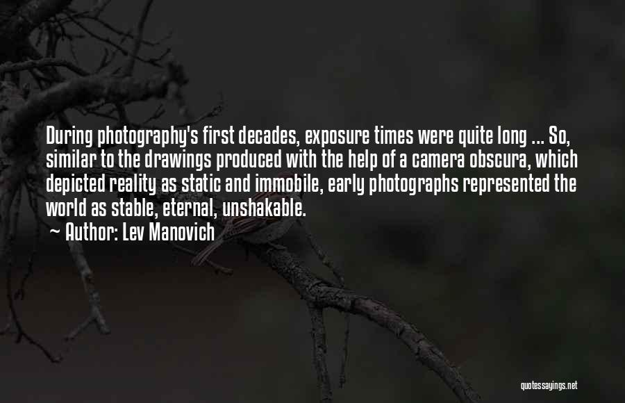 Lev Manovich Quotes 1069758