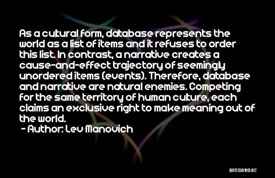 Lev Manovich Quotes 1599916