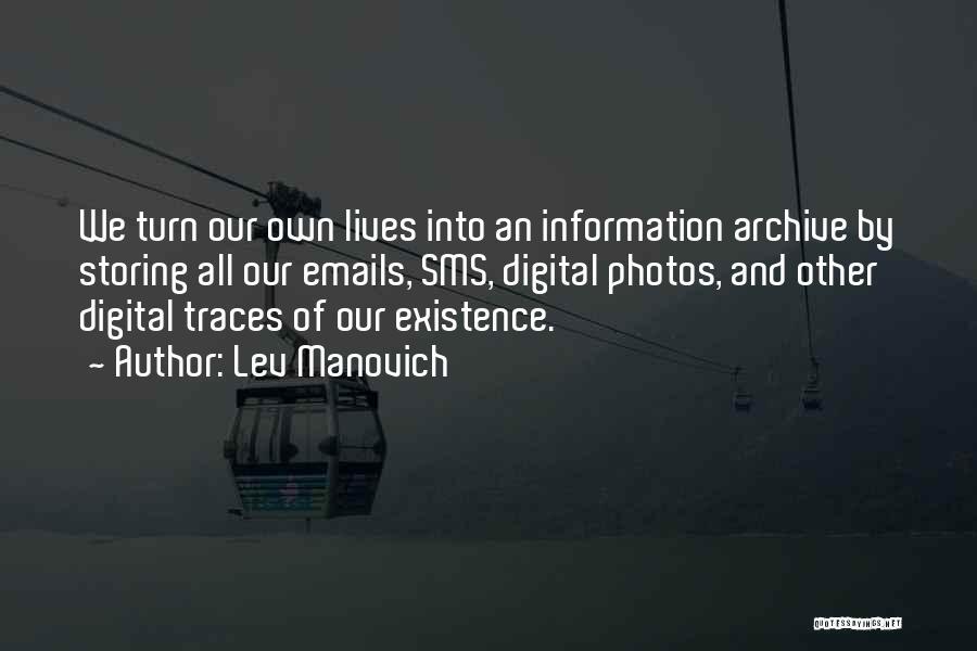Lev Manovich Quotes 1824530