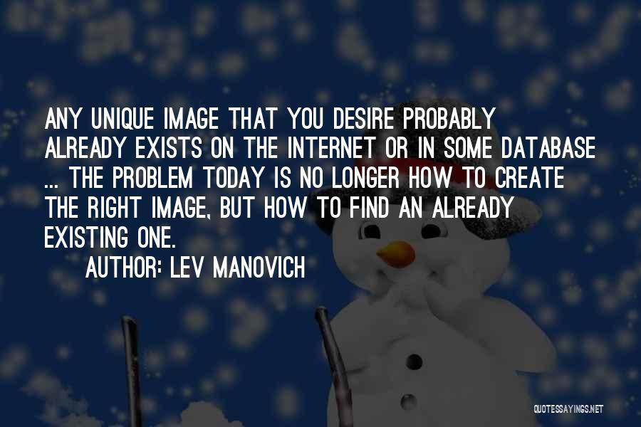 Lev Manovich Quotes 564432