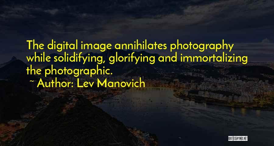 Lev Manovich Quotes 745155