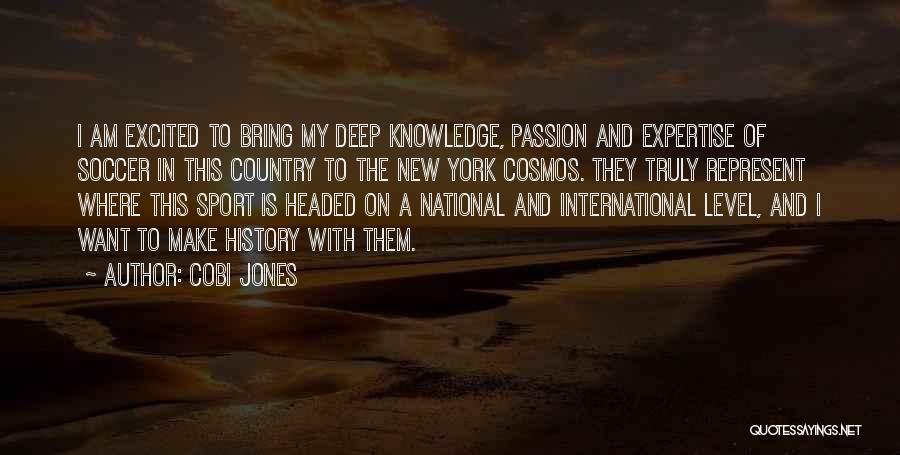Level Headed Quotes By Cobi Jones