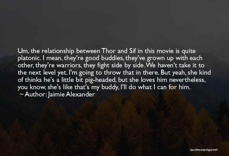 Level Headed Quotes By Jaimie Alexander