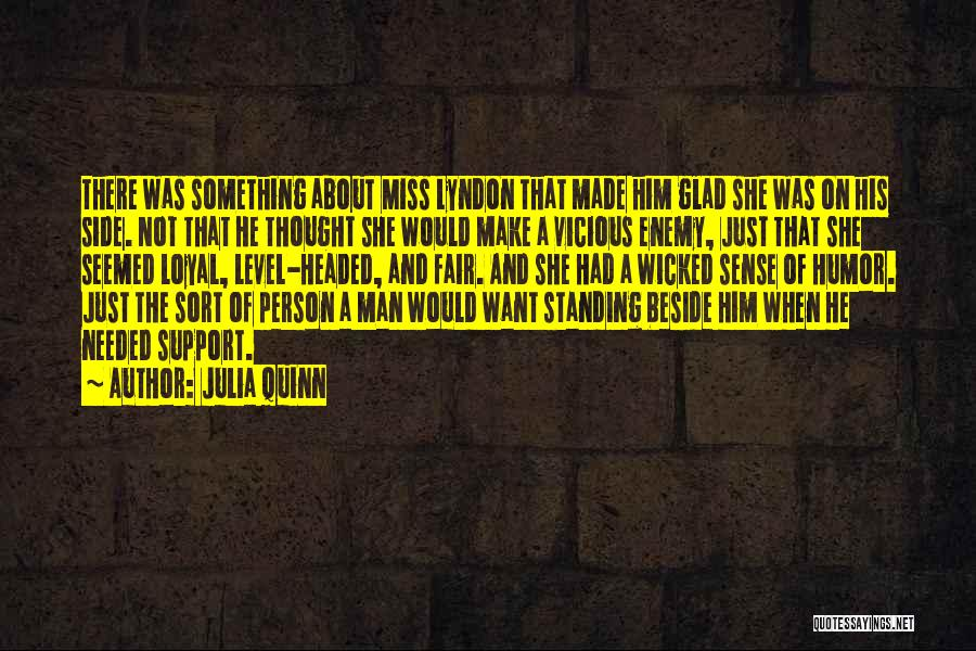 Level Headed Quotes By Julia Quinn