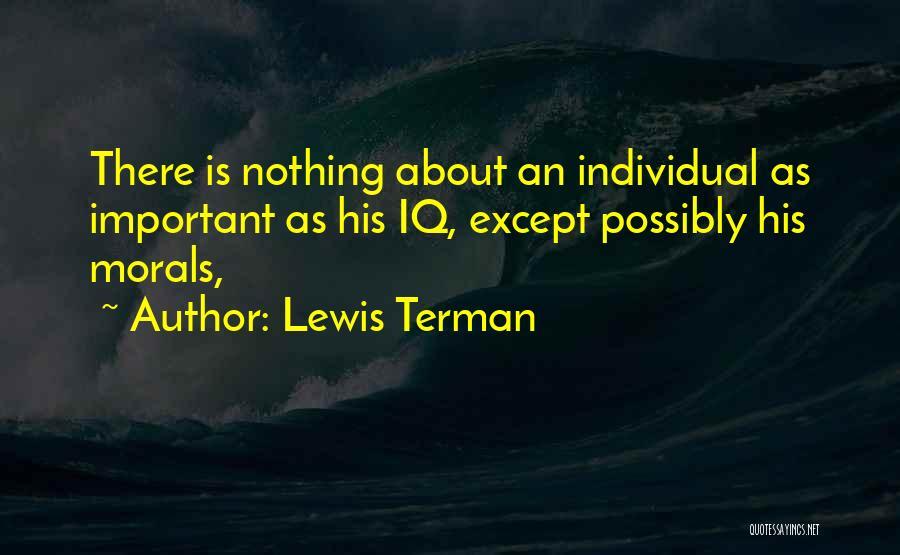 Lewis Terman Quotes 1646789