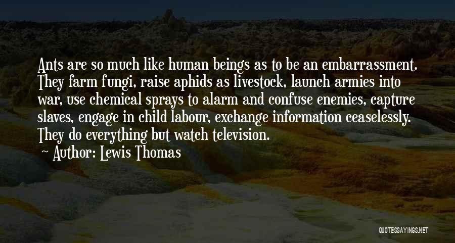 Lewis Thomas Quotes 813539
