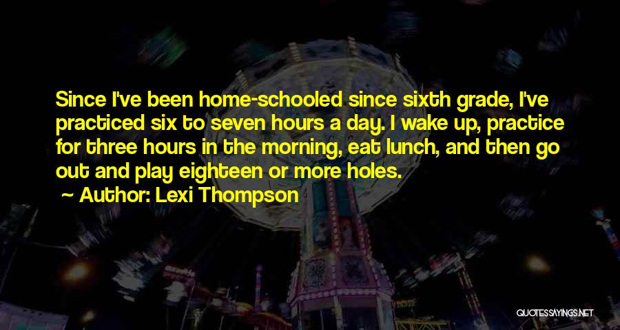 Lexi Thompson Quotes 796872