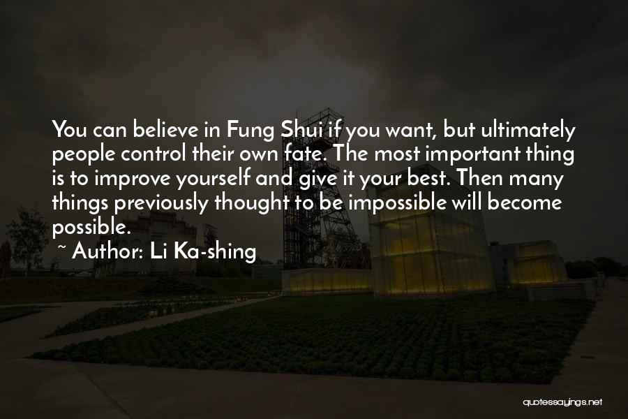 Li Ka-shing Quotes 160792