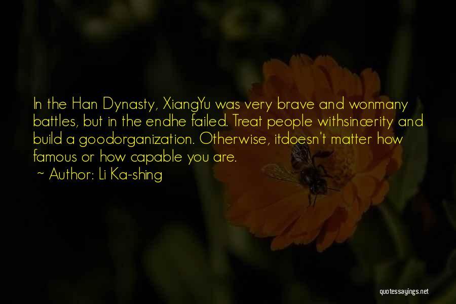 Li Ka-shing Quotes 1996635