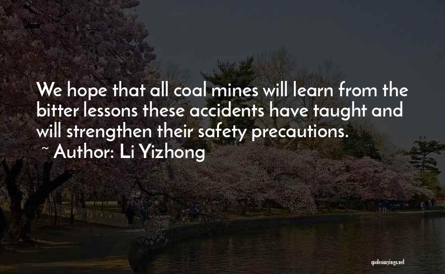 Li Yizhong Quotes 1937184