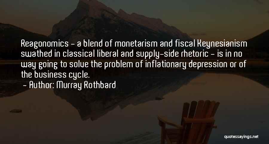 Liberal Rhetoric Quotes By Murray Rothbard