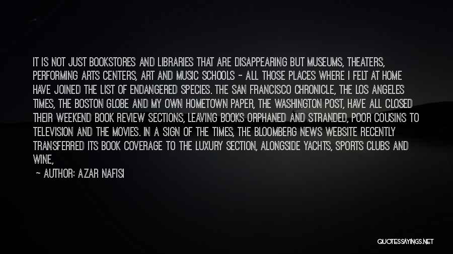 Libraries And Reading Quotes By Azar Nafisi