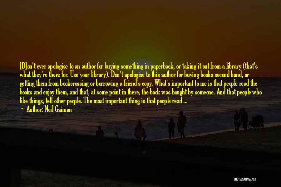 Libraries And Reading Quotes By Neil Gaiman