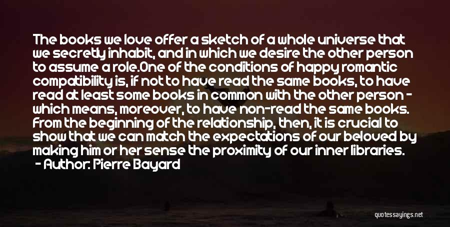 Libraries And Reading Quotes By Pierre Bayard