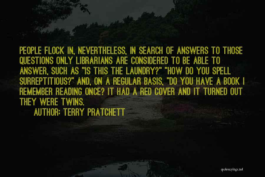 Libraries And Reading Quotes By Terry Pratchett