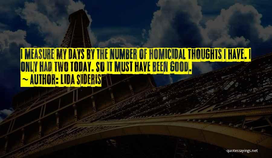 Lida Sideris Quotes 2214959