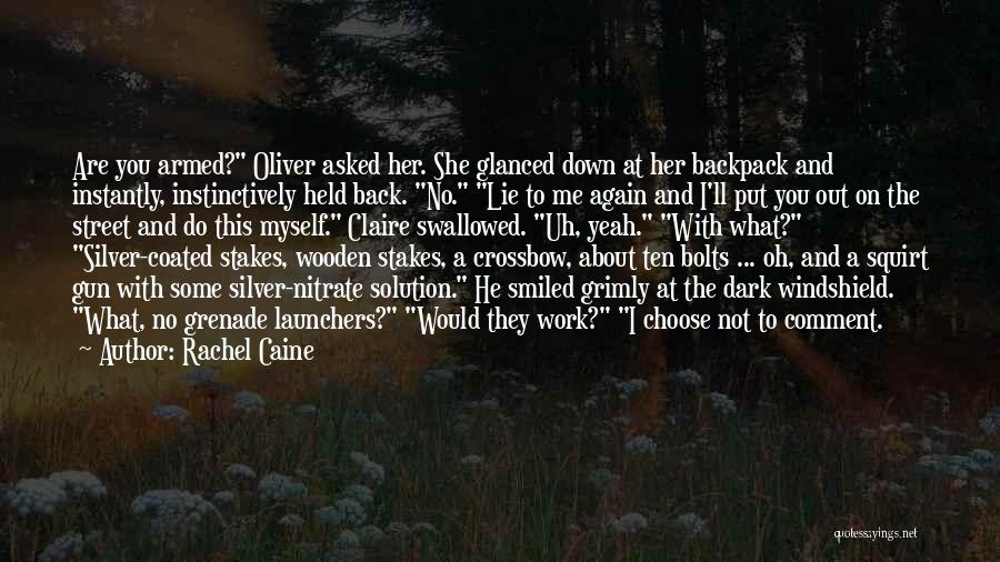 Lie Down With Me Quotes By Rachel Caine