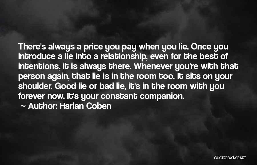 Lie In Relationship Quotes By Harlan Coben