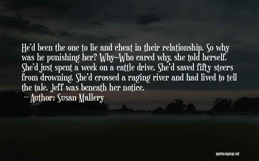 Lie In Relationship Quotes By Susan Mallery