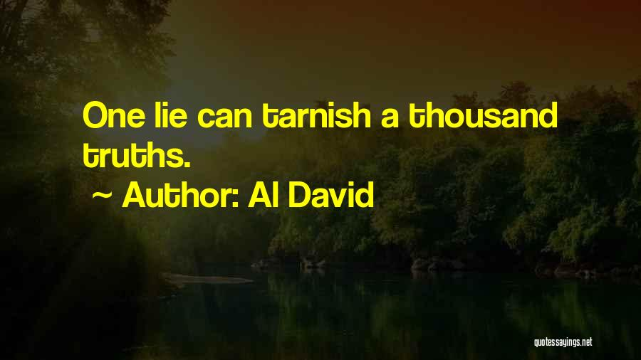 Lie Liar Quotes By Al David