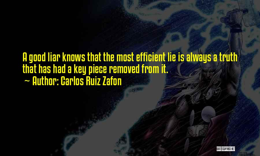 Lie Liar Quotes By Carlos Ruiz Zafon
