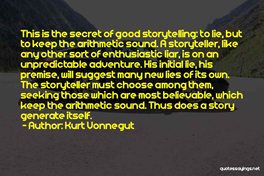 Lie Liar Quotes By Kurt Vonnegut