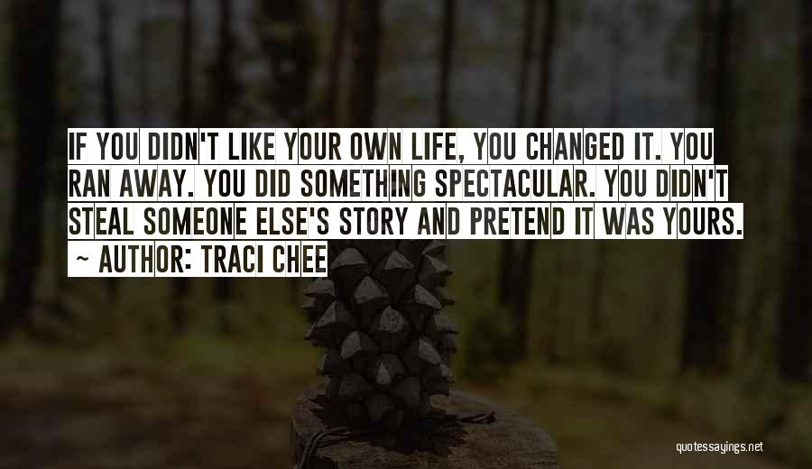 Lie Liar Quotes By Traci Chee