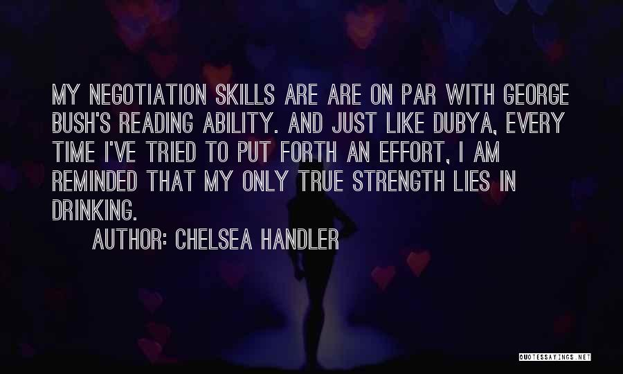 Lies And Quotes By Chelsea Handler