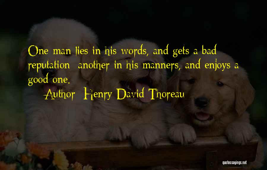 Lies And Quotes By Henry David Thoreau