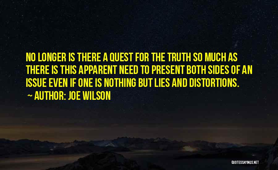Lies And Quotes By Joe Wilson
