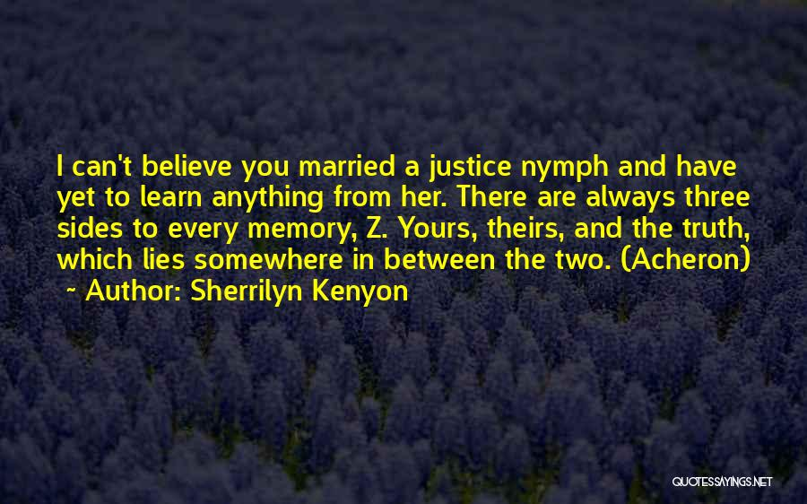 Lies And Quotes By Sherrilyn Kenyon