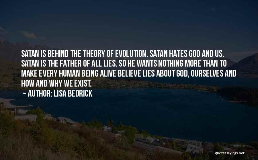 Lies We Believe Quotes By Lisa Bedrick
